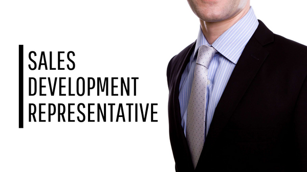 Sales Development Representative