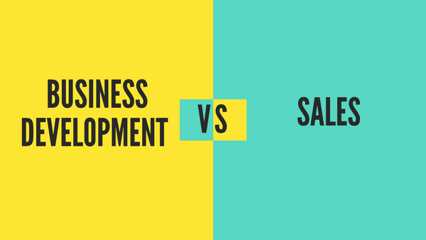Business Development vs. Sales